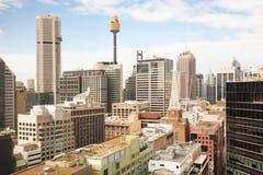 Sydney CBD au cours de la journée Photos libres de droits