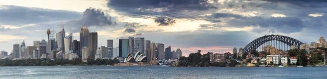 Sydney CBD Cremorne Tele pan Royalty Free Stock Image