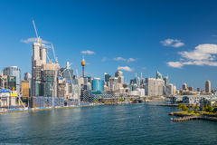 Sydney CBD and Darling harbor Royalty Free Stock Images