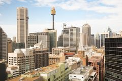 Sydney CBD During The Day Royalty Free Stock Photos
