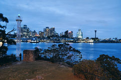 Sydney CBD at evening Royalty Free Stock Image