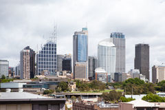Sydney CBD From Kings Cross Royalty Free Stock Photos