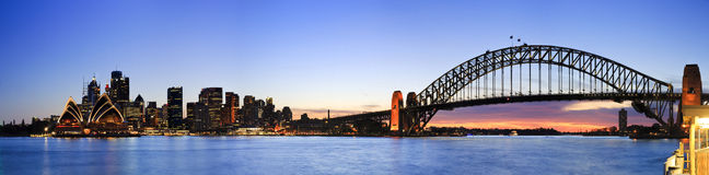 Sydney CBD 5 Kiribilli panorama Royalty Free Stock Photo