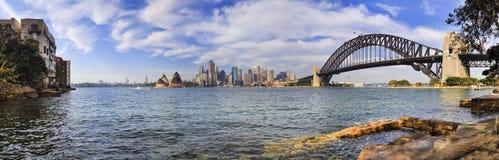 Sydney CBD Milsons rock pool Stock Photos