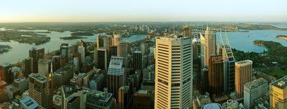 Sydney CBD panorama Royalty Free Stock Image