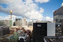 Sydney CBD Podczas dnia obrazy stock