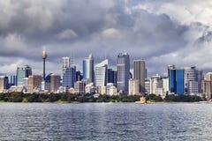 Sydney CBD Telephoto day Stock Image