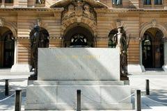 Sydney Cenotaph - Australien Royaltyfri Fotografi