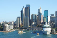 Sydney central business district. Sydney is the most populous city in Australia Stock Photography