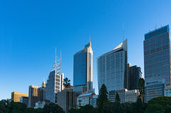 Sydney Central Business District skyline Royalty Free Stock Photos