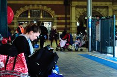 Sydney Central Railway Station Stock Photography