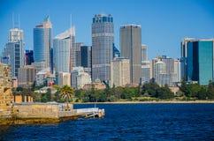 Sydney, centro urbano Immagini Stock Libere da Diritti