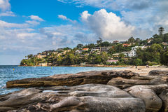 Sydney Chinamans Beach Royalty Free Stock Image