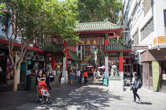 Sydney Chinatown lizenzfreie stockbilder