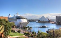 Sydney Circular Quay Australien Fotografering för Bildbyråer