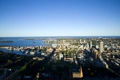 Sydney city aerial view Stock Photos
