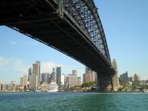 Sydney City Bridge Royalty Free Stock Image
