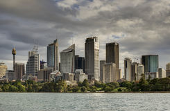 Sydney City Buildings, Sydney Australia stock photography