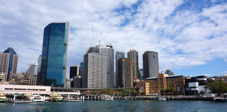 Sydney city CBD towers and office buildings Stock Images