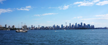Sydney city CBD towers and office buildings Stock Photography