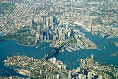 Sydney city center. Aerial view Stock Image