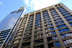 Sydney City Commercial Skyscrapers Australien Arkivbilder