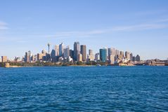 Sydney City and Harbour harbor Royalty Free Stock Photos