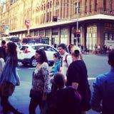 Sydney City. MuaySydney cbd in motion Stock Photos