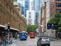 Sydney city life Stock Image