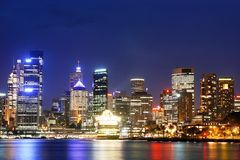 Sydney City Skyline Stock Photography