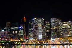 Sydney city skyline Royalty Free Stock Photos