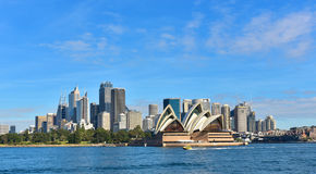 Sydney city skyline royalty free stock photo
