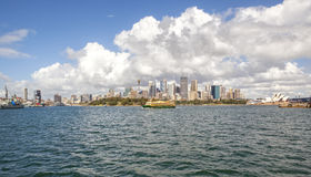 Sydney City Skyline Royalty Free Stock Photos