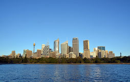 Sydney City Skyline from Macquaries point, Australia Royalty Free Stock Image