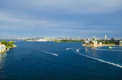 Sydney city skyline Stock Image