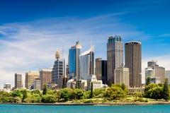 Sydney City Skyscrapers Royaltyfria Foton