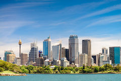 Sydney City Skyscrapers Lizenzfreies Stockbild