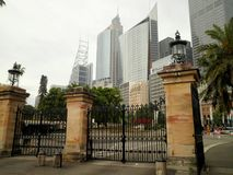 Sydney City Skyscrapers Royalty Free Stock Images