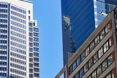 Sydney City Skyscrapers NSW, Australien Arkivbild