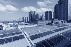 Sydney City Solar Energy Fotografering för Bildbyråer