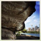Sydney City unter Druck Lizenzfreies Stockfoto