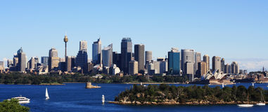 Sydney City View Stock Photo