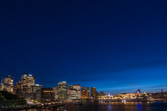 Sydney City View Fotografia de Stock Royalty Free