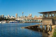 Sydney city view Stock Photos