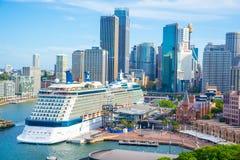 Sydney city view Stock Image