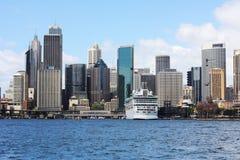 Sydney City View @ Quay circular imagenes de archivo