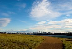 Sydney City view from South Head Park Royalty Free Stock Photography