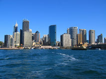 Sydney City From Water View Stock Photos