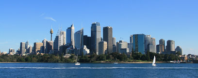Sydney Cityscape Royalty Free Stock Photography