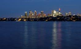 Sydney Cityscape Immagine Stock Libera da Diritti